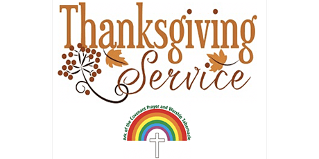ACPWT Annual Thanksgiving Service and Dinner tickets