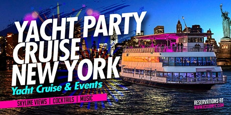 #1 NEW YORK YACHT PARTY CRUISE tickets