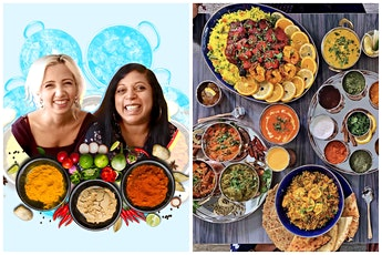 No Worries Curry Presents Gourmet 5 Course Indian Dinner tickets