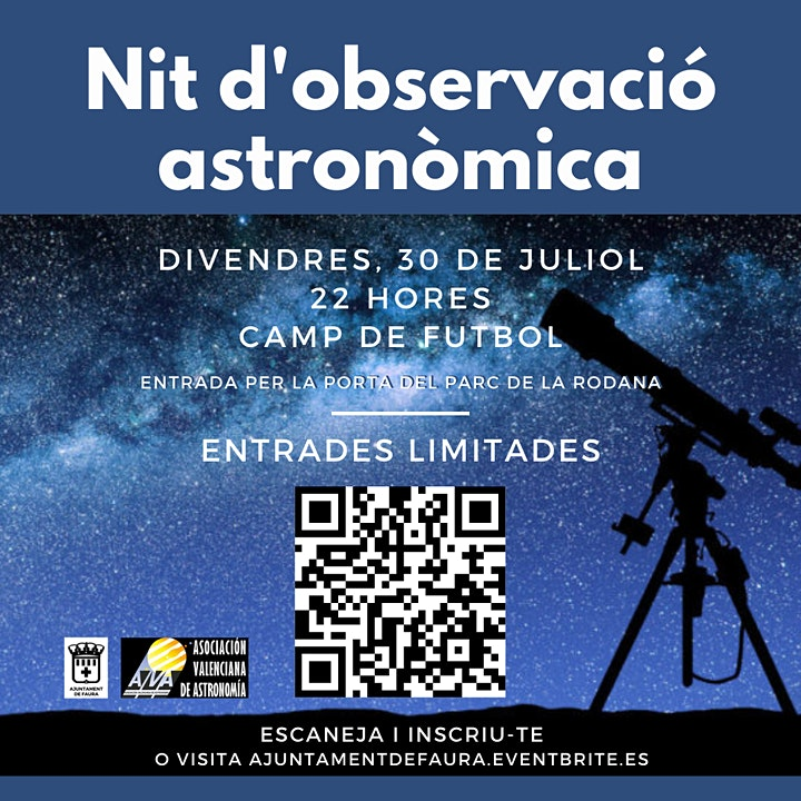 Imagen de Nit d'observació astronòmica