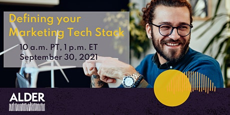 Defining Your Marketing Tech Stack tickets
