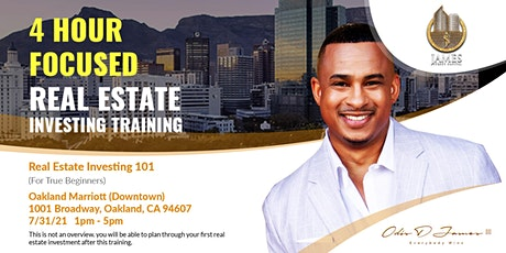 Real Estate Investing 101 - Live Training - SF Bay Area tickets