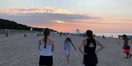 Sunken Sunset Beach Yoga: tickets