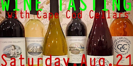 August Wine Tasting with Cape Cod Cellars tickets