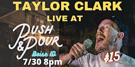 Comedian Taylor Clark in Boise tickets