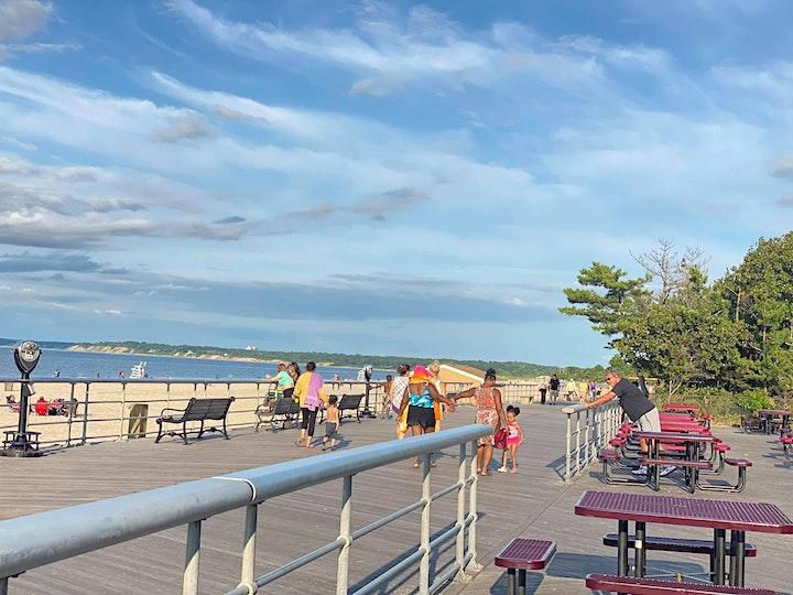 Sunken Sunset Beach Yoga: image