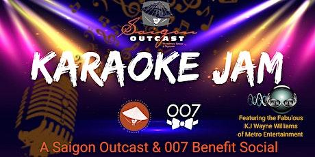 Karaoke Jam MEET & GREET 6PM this Wednesday @ Saigon Outcast WIN a PRIZE! tickets
