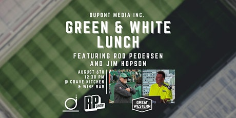 GREEN & WHITE LUNCH tickets