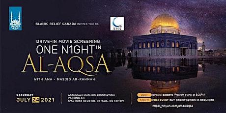 Ottawa | One Night in Al-Aqsa with AMA tickets