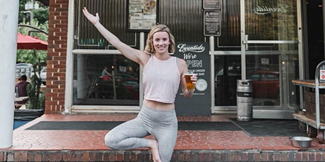Hops & Flow FREE Beer Yoga at Eventide Brewing! tickets