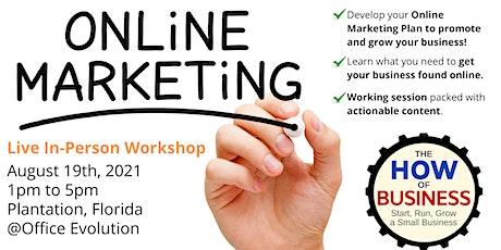 Online Marketing Workshop tickets