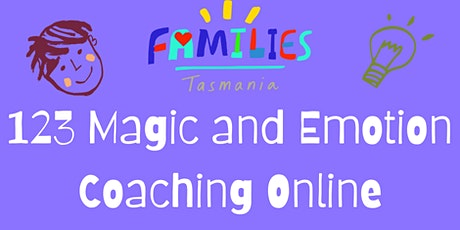 123 Magic and Emotion Coaching ONLINE 3 Session Program tickets