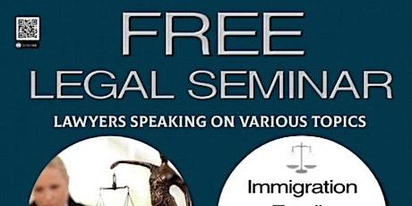 FREE Legal Seminar By Muslim Bar Association of Houston & PAGH tickets