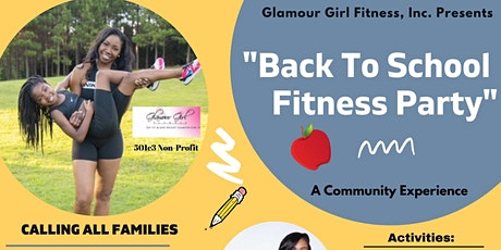 Back To School  Pop Up Fitness Party by Glamour Girl Fitness, Inc. tickets