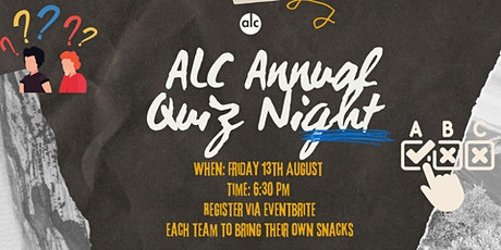 ALC Quiz Night tickets