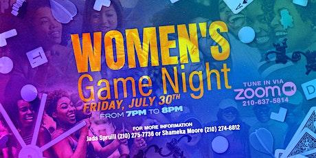 Women's Virtual Game Night tickets