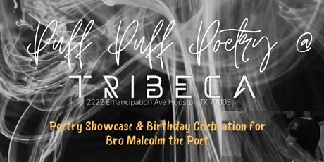Puff Puff Poetry at Tricbeca: An All White Affair tickets