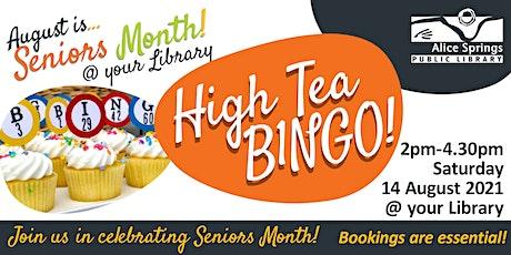 High Tea Bingo - Seniors Month tickets