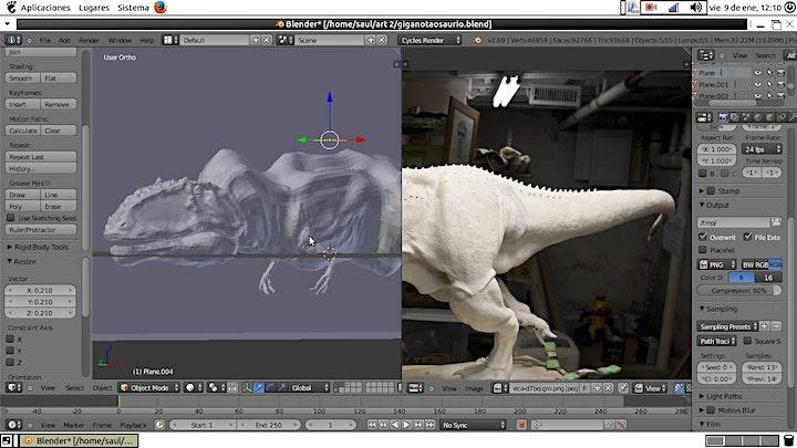 Imagen de INTRODUCCION RAPIDA AL MODELADO DE PERSONAJES CON BLENDER 3D.