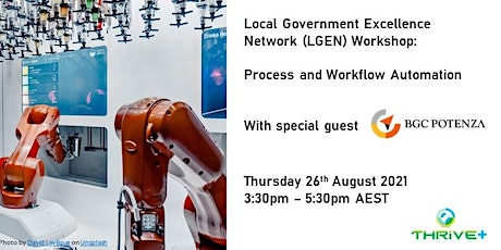 Local Government Excellence Network (LGEN): Process and Workflow Automation tickets