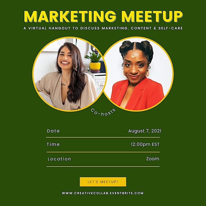 Marketing Meetup (A Hangout for Content Creators) image