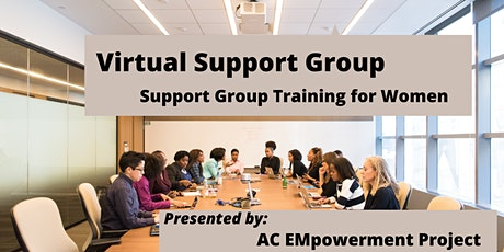 Support Group Training for Women tickets