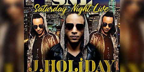 SATURDAY NIGHT LIVE WITH JAY HOLIDAY AT VIBRATIONS tickets