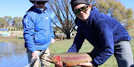 NSW DPI Free Kids Fishing Workshop - Deano's Spring Water Trout Hatchery tickets