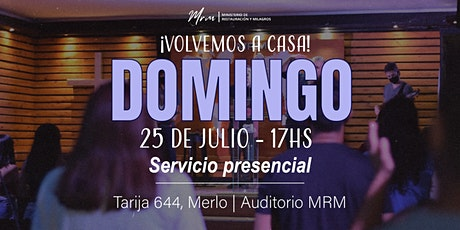 Reunión Presencial 17hs | MRM entradas