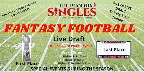 Phoenix Singles Fantasy Football tickets