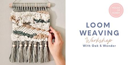 Loom Weaving - Wall Hanging edition tickets