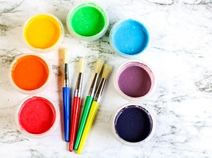 Make Your Own Paint for Under 5s - ONLINE tickets