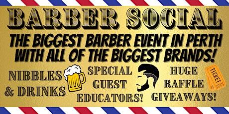Barber Social tickets