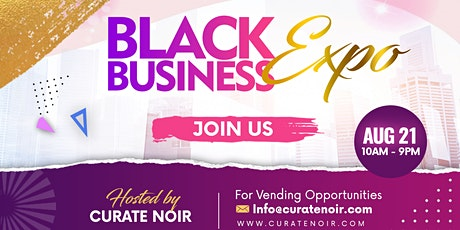 Curate Noir's Black Business Expo - Cherry Hill Mall tickets