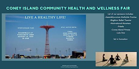 Coney Island  Community  Health and Wellness Fair tickets