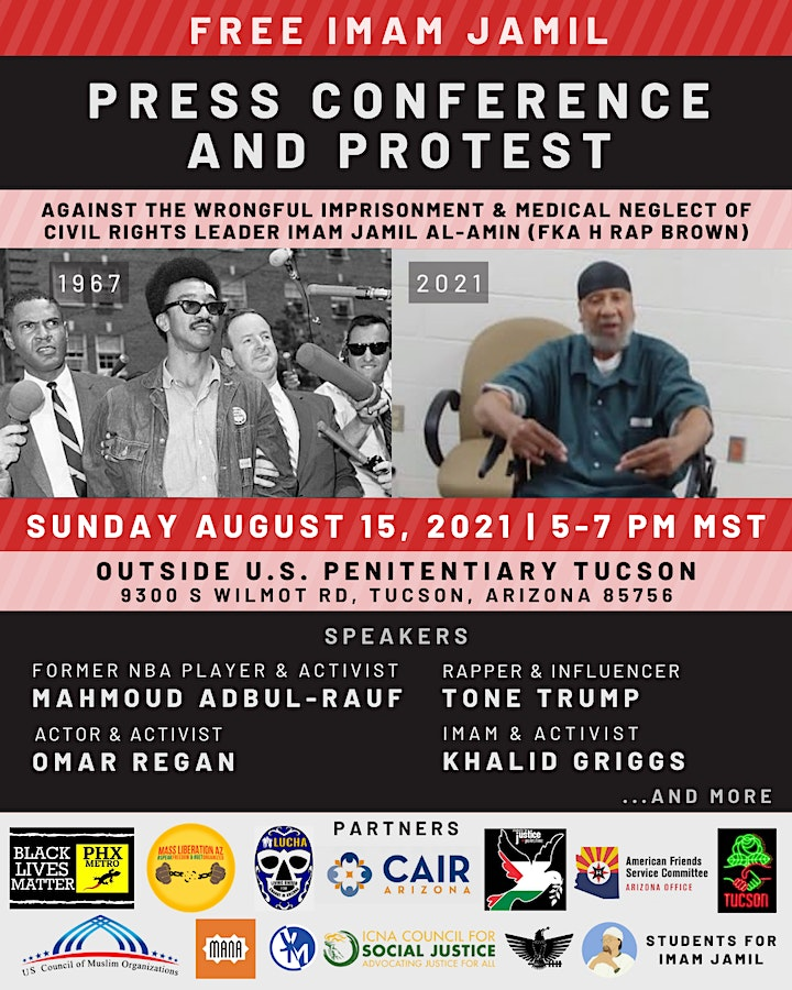 Free Imam Jamil Press Conference & Protest image