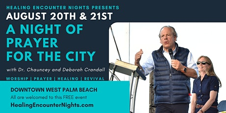 A NIGHT OF PRAYER FOR THE CITY tickets
