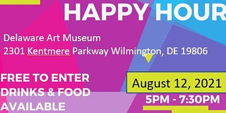 WTS DE Delaware Art Museum - Art and Music Social tickets