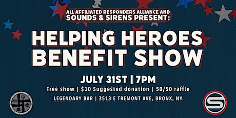 Helping Heroes Benefit tickets