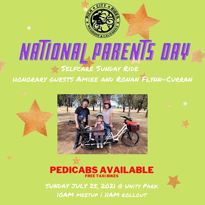 SELF-CARE SUNDAY: a family orientated bike ride. image