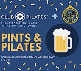 Pints and Pilates - Mat Class tickets