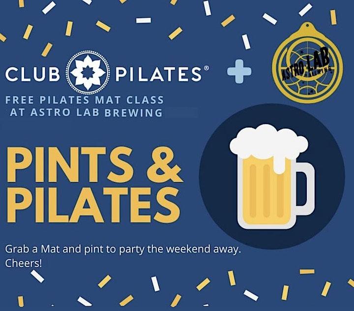 Pints and Pilates - Mat Class image