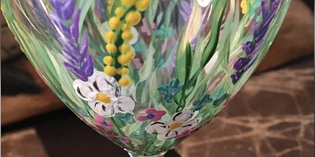 BYOB Paint & Sip: Wine Glass Painting tickets