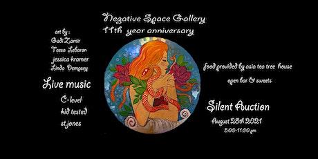 Negative Space 11th Anniversary Celebration tickets
