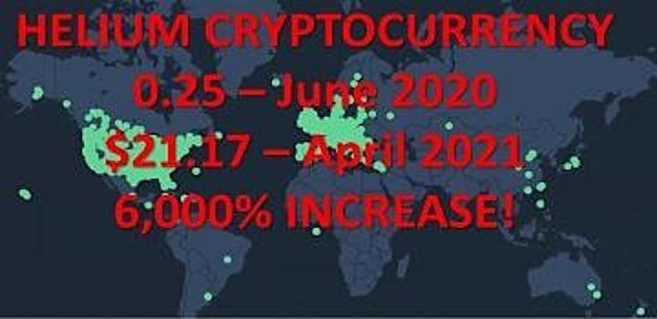 FREE Webinar AUSTRALIA:  Heliumhack  = Blockchain + IoT + Crypto image