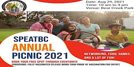 SPEATBC Annual Picnic 2021 tickets