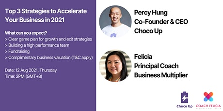 Top 3 Strategies to Accelerate Your Business in 2021 tickets