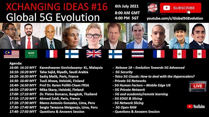 XCHANGING IDEAS #17 - Global 5G Evolution image