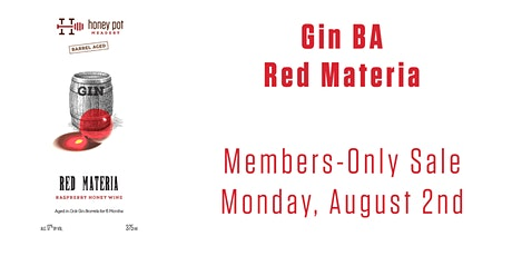 BA Gin: Red Materia Bottle Release tickets