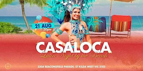 Casaloca Latin Night by the Beach tickets